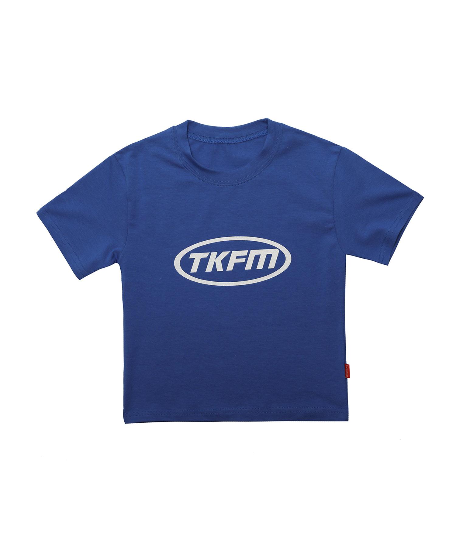 [테이크폼] 서클 TKFM 크롭티 블루 (여성용)