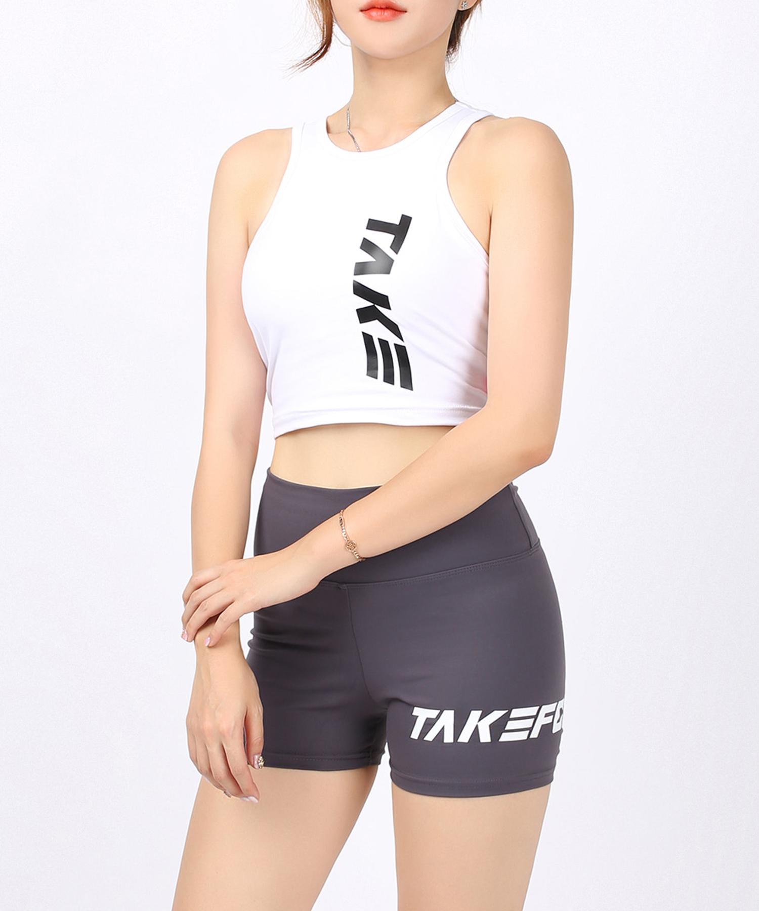 [테이크폼] 스쿼트 팬츠 그레이 (여성용)